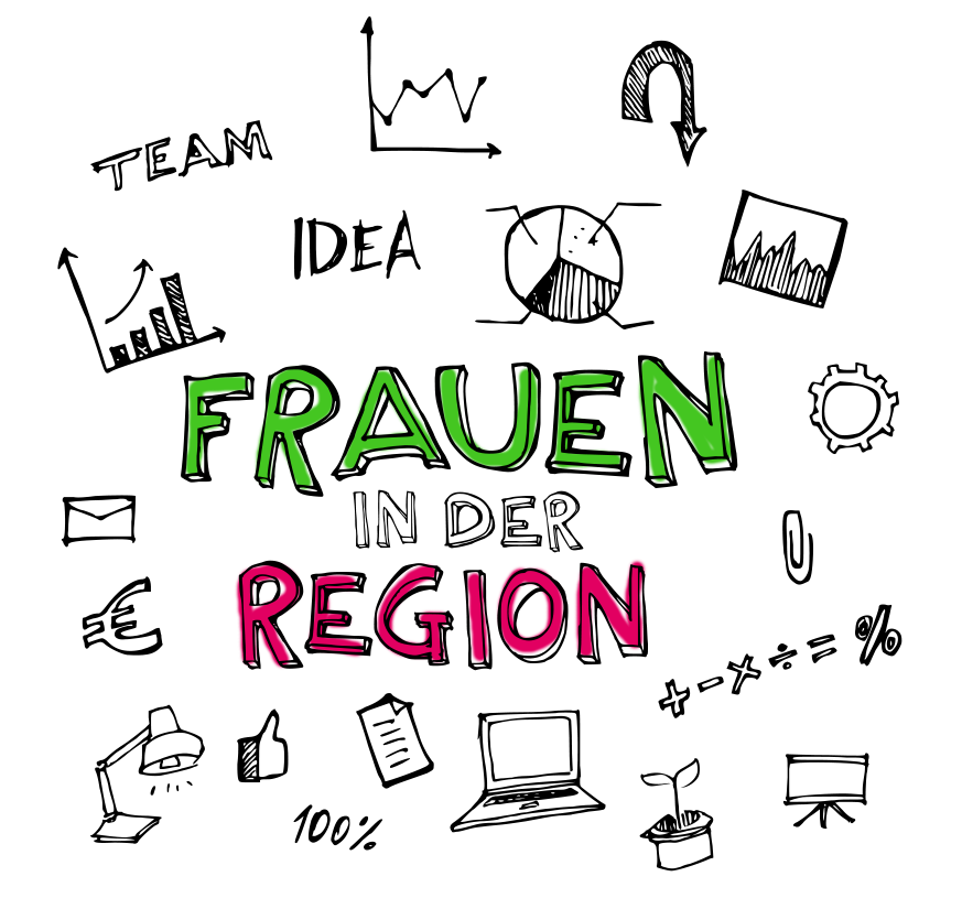 Headerbild Frauen in der Region
